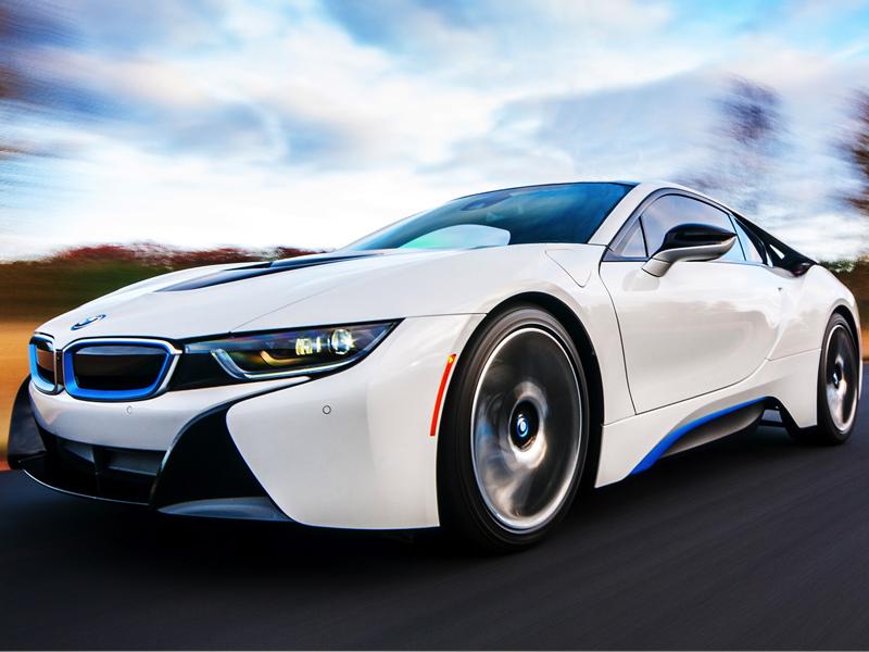 Rent a i8 BMW